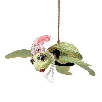 Flamboyant Sea Turtle Ornament: Turtle Luv, Turtles Christmas, Turtles 3, Turtles Ornaments, Sea Turtles, Turtles Luv