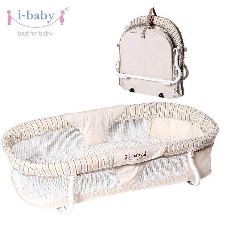 Luxury i baby Portable Baby Carrycot Easy Carry Travel Bassinet Infant Cot Cradle Baby Crib Folding - Popular portable baby sleeper Top Design