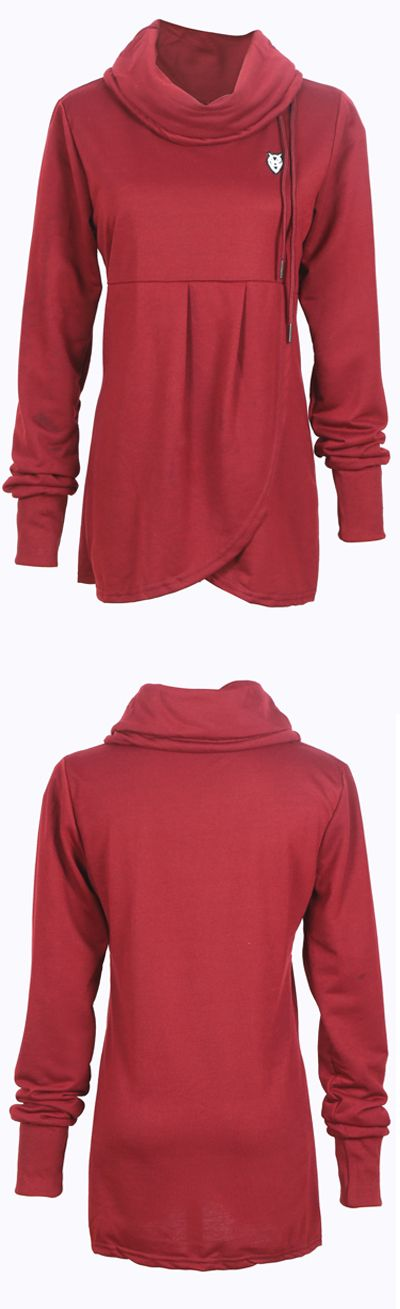 You're the top one of the fashion trend. Follow your heart with this cool reversed sweatshirt. Don't let this baby slip away before your eyes. Shop it at WealFeel.COM!