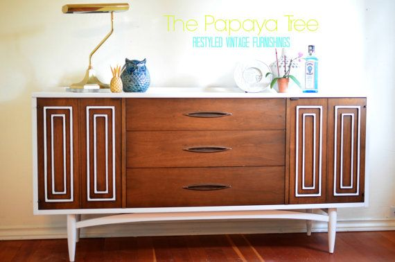 Best Built To Order Mid Century Lacquered Dresser Mcm Walnut 640 x 480