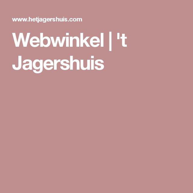 Webwinkel | 't Jagershuis