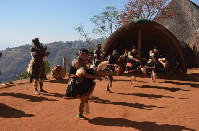 Phezulu Cultural Village and Reptile Park Tour from Durban