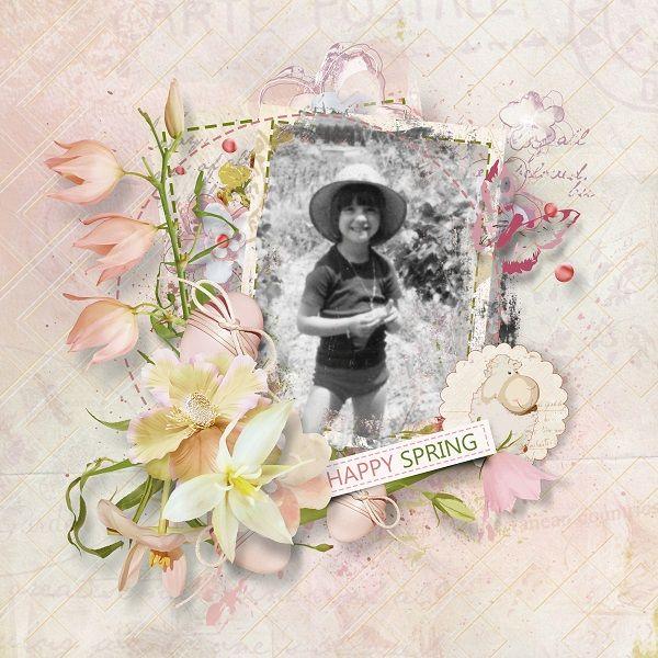 """""""Think spring"""" de Sekada designs  http://store.scrapgirls.com/designers/Sekada-Designs.html"""