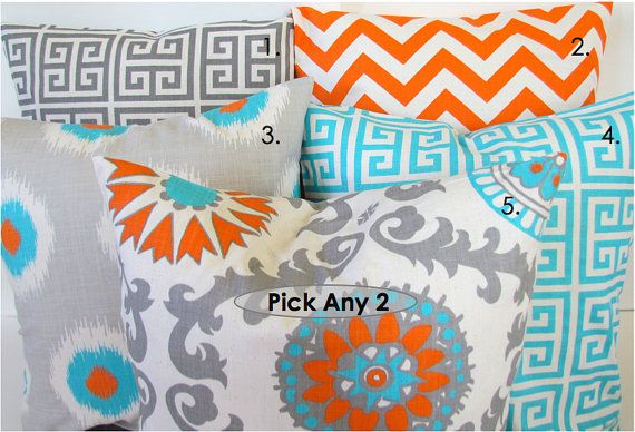Hey, I found this really awesome Etsy listing at https://www.etsy.com/listing/158921866/sale-throw-pillows-set-of-2-pick-2-16x16