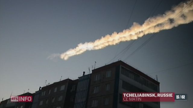 Une pluie de météorites fait plus de 1200 blessés en Russie - rts.ch - info - monde
