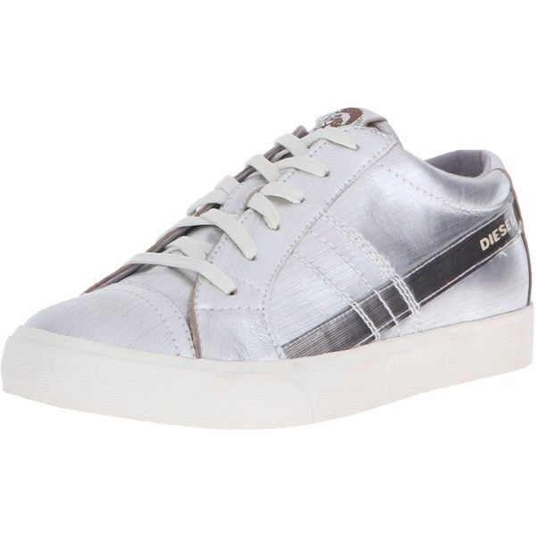 Diesel Women's D-Velows D-String Low W Fashion Sneaker (183,570 KRW) ❤ liked on Polyvore featuring shoes, sneakers, zip sneakers, zipper shoes, diesel trainers, diesel shoes and string shoes