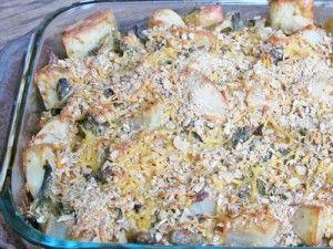 Skinny Green Bean & Potato Casserole - an amazing side dish!