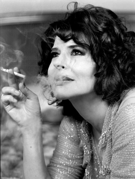 Fanny Ardant / Actress / Black and White Photography