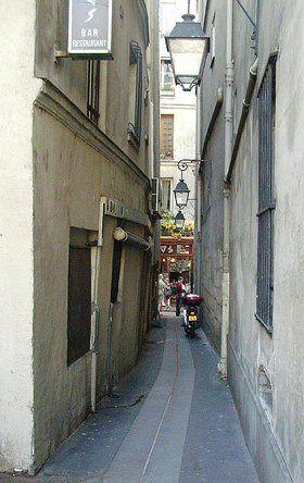 rue du Chat-qui-Pêche - Paris 5e
