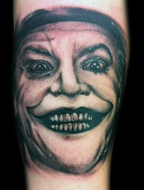 Jack Nicholson 'Joker' portrait done by Hollywood ...