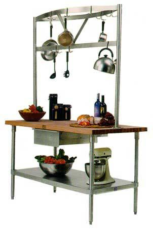 John Boos Cucina Grandioso Kitchen Cart 48in X 24in Carts