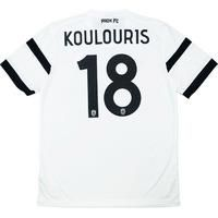 2014-15 PAOK Away Shirt Koulouris #18 *w/Tags* , From CLASSIC FOOTBALL SHIRTS LIMITED , CLASSIC FOOTBALL SHIRTS LIMITED