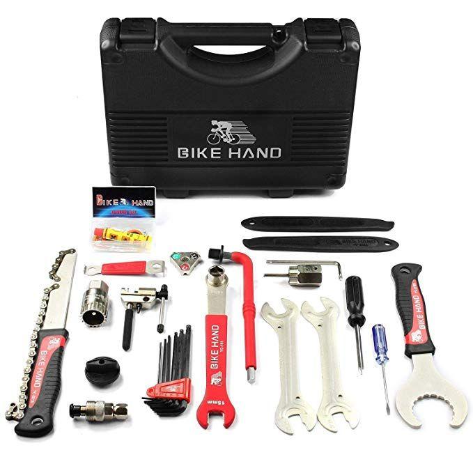 Bikehand Bike Bicycle Repair Tool Kit Review Bike Repair Bike