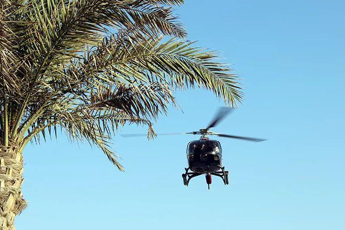 Ada Wanders/Włóczykijada. Dubaj. To nie Wietnam. To loty widokowe dla VIPów nad Zatoką Perską.