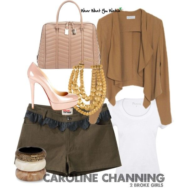 Inspired by 2 Broke Girls character Caroline Channing played by Beth Behrs.