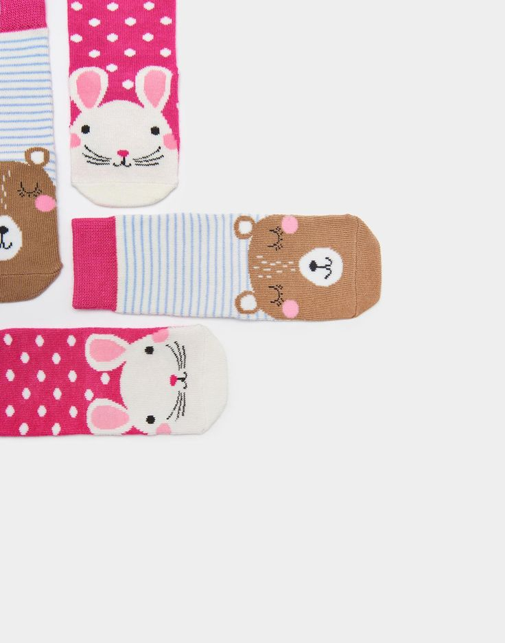 Neat feet Mouse Two Pack Bamboo Socks | Joules UK