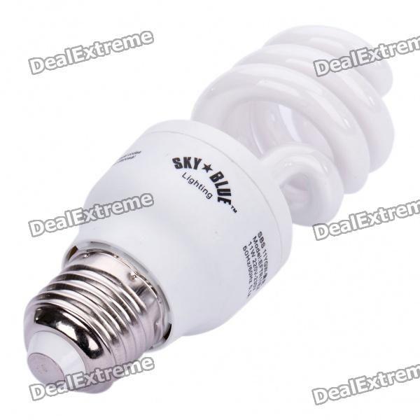 E27 11W Negative Ion Air Purifier Energy Saving Red Light Bulbs (220-230V)