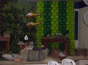Babaloo Festas: Festa do exercito