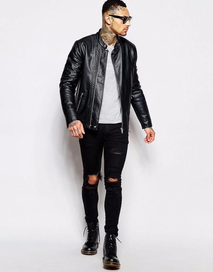 Více než 25 nejlepších nápadů na Pinterestu na téma Leather ...