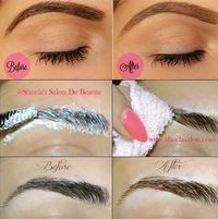 Gorgeous U !! Our mission to make you gorgeous !!: How to Lighten Your Eyebrows !!