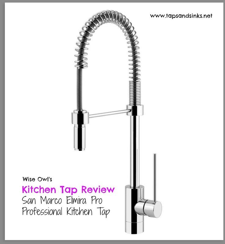 Kitchen Tap Reviews: Professional Kitchen Tap San Marco Elmira Pro