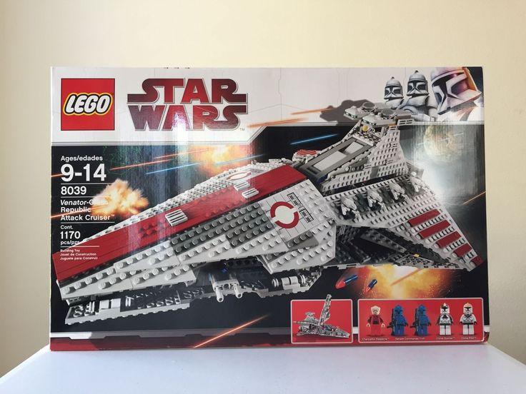 LEGO Star Wars Venator-Class Republic Attack Cruiser 8039 Brand NEW RETIRED SET