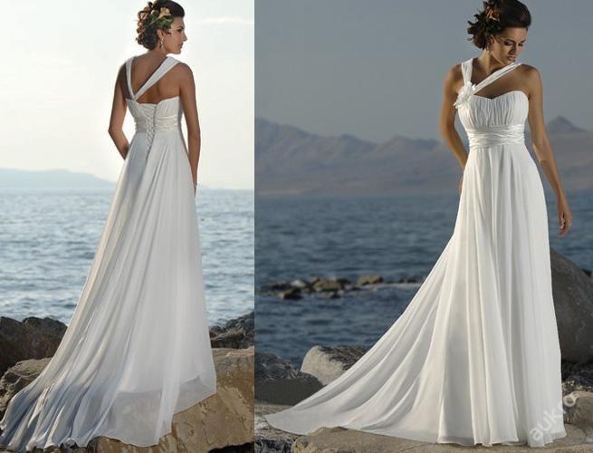 Luxusní nové svatební šaty Bílá Ivory Dlouhá Maxi (5145279070) - Aukro - největší obchodní portál