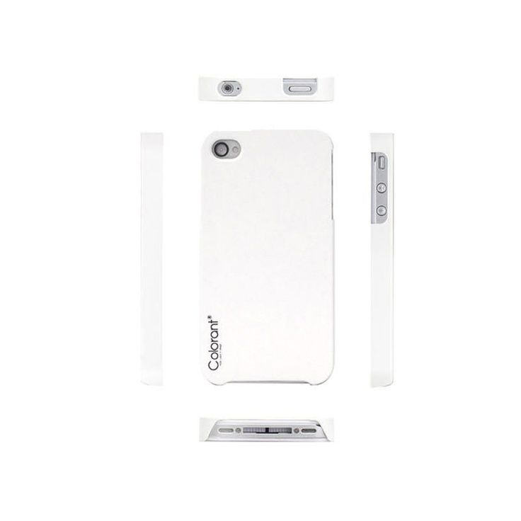 [Colorant] Ultra Light Thin Matt Cover Case for iPhone 4/4S Alpine White #Colorant