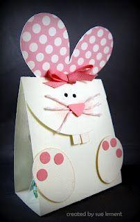 Cute bunny treat bag