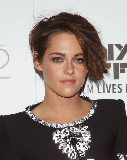 Kristen Stewart's new crop haircut