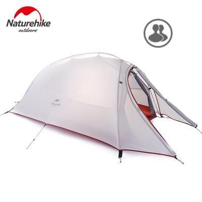 Naturehike 2 Person Tent 20D Silicone Fabric Tent Double-layer Camping Tent Lightweight Tent Outdoor Sports Winter http://campingtentlover.com/best-pop-up-tents/
