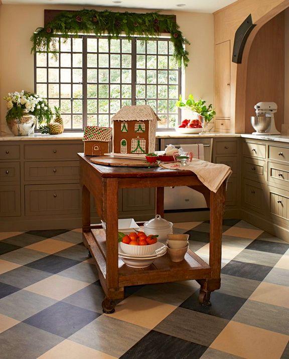 Checkered Kitchen Floor: 137 Best Images About Marmoleum Tile Patterns On Pinterest