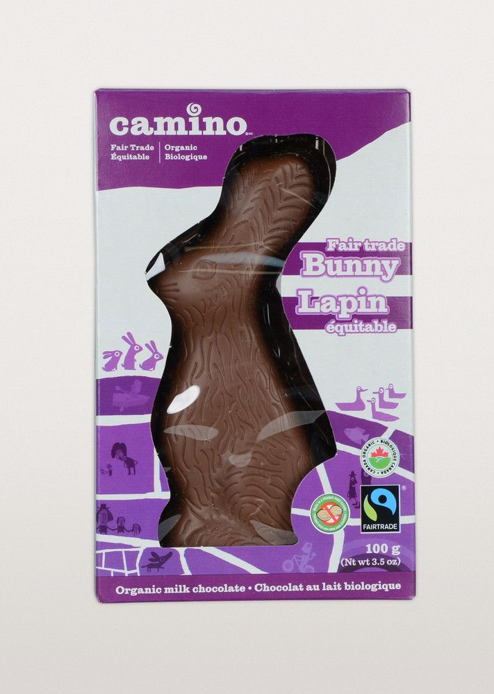 Our best selling #FairTrade #Organic chocolate Easter Bunny is back! Get it now, they sell out fast!