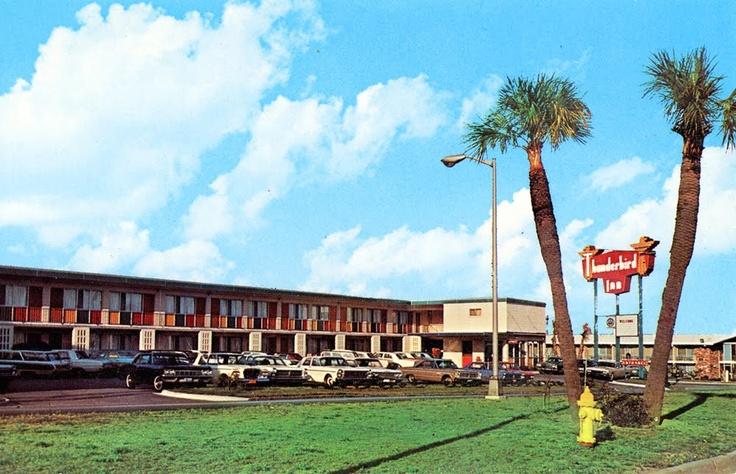 Where we're staying in Savannah - Thunderbird Inn