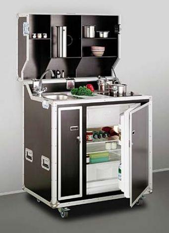 Accessoires cuisine bloc cuisine compact pour studio - Mini cuisine pour studio ...