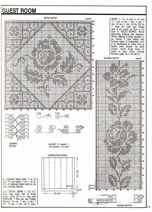 198 best filet crochet images on pinterest crochet doilies 2 501x700 132kb filet crochet chartscrochet diagramcrochet edgings crochet doiliescrochet ccuart Images