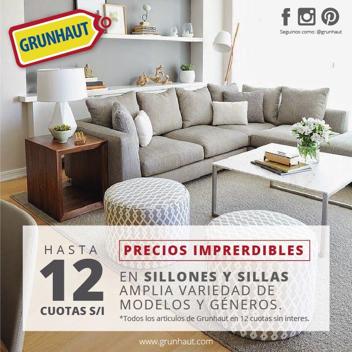 Cambiá ese #sillón viejo e incomodo. Aprovecha las 12 #cuotas que tenemos en GRUNHAUT http://grunhaut.com/deco/productos.php?cat=sillones Tucumán 179 - (0351) 4238022 9 de Julio 424 - (0351) 4234946 Alvear 759 - (0351) 4229819 Hipe rConstrucción Rodriguez del Busto L.207 - (0351) 4778580 #Grunhaut