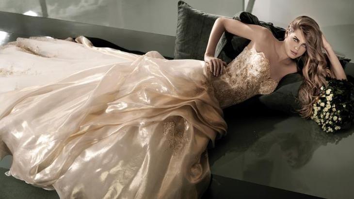 Потрясающие свадебные платья от Alessandro Angelozzi