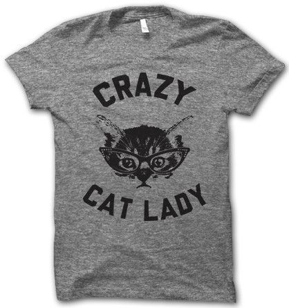 Crazy Cat Lady – Thug Life Shirts