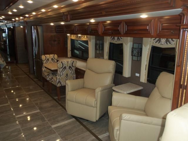 Lambright Luxe Wall Hugger RV Recliners shown in 2017 Newmar Dutch Star.