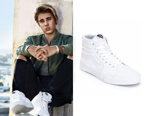 all white vans sk8 hi outfit
