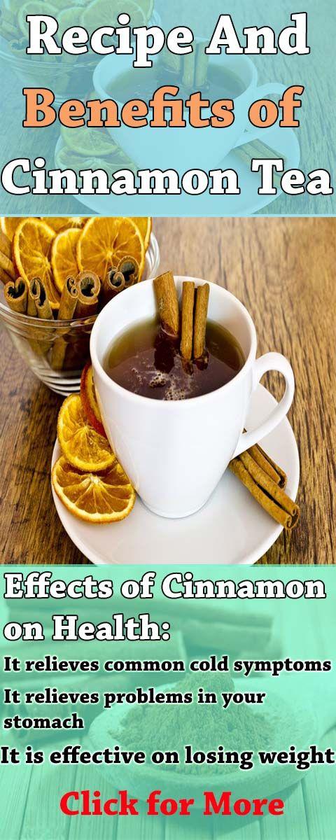 Recipe and Benefits of Cinnamon Tea
