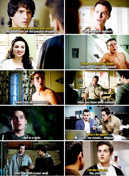 Teen Wolf - iconic