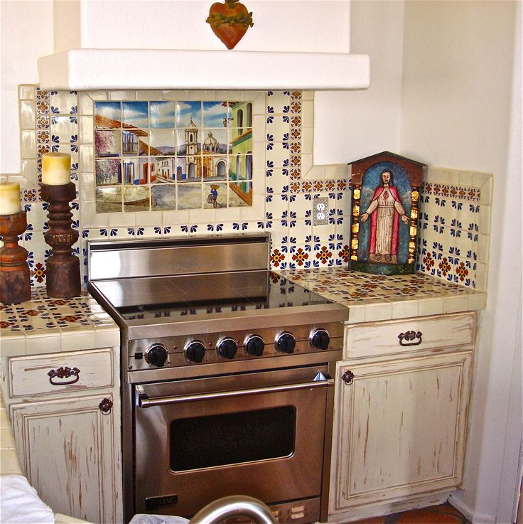 Best 20 mexican style kitchens ideas on pinterest for Spanish hacienda style kitchens