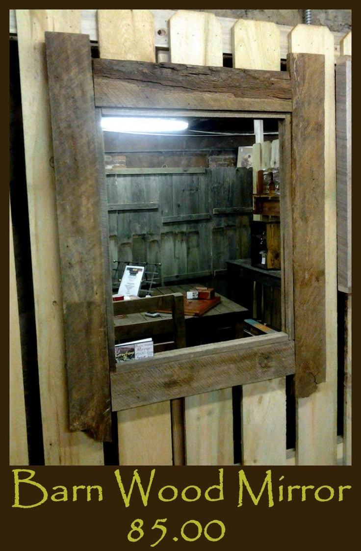 18 best images about barn board mirrors on pinterest for Barn board bathroom ideas