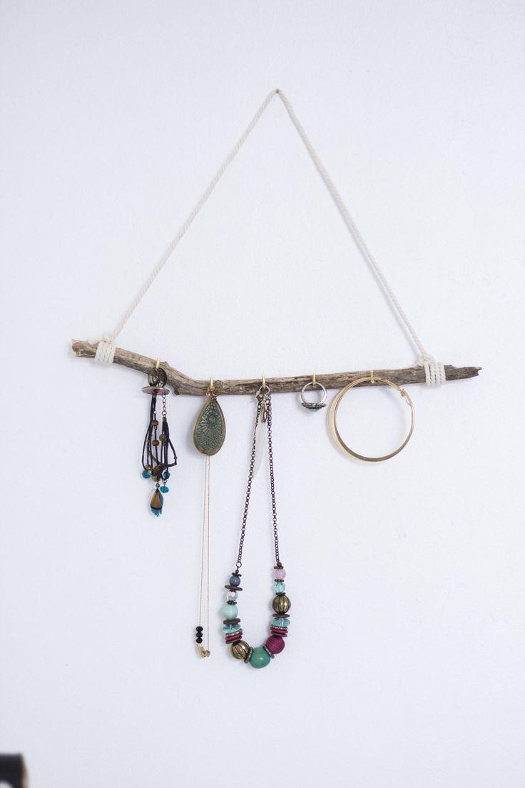 17 meilleures id es propos de porte bijoux sur pinterest - Fabriquer porte bijoux facile ...