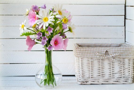 Artificial flowers in vase Flower bouquet by WowBloomRoom on Etsy