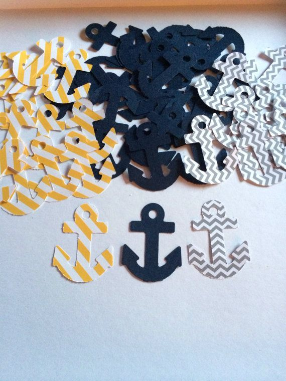 Navy Blue  Yellow Striped  Grey Chevron by GreenEyedBabies on Etsy, $5.00