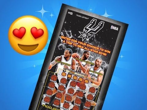 I WON!!! Spurs Texas Lottery Scratch Off Ticket Second Chance Win! - (More info on: https://1-W-W.COM/lottery/i-won-spurs-texas-lottery-scratch-off-ticket-second-chance-win/)