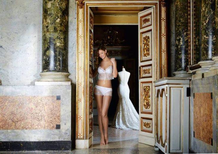 Роскошное белье в роскошном палаццо:  лукбук Yamamay